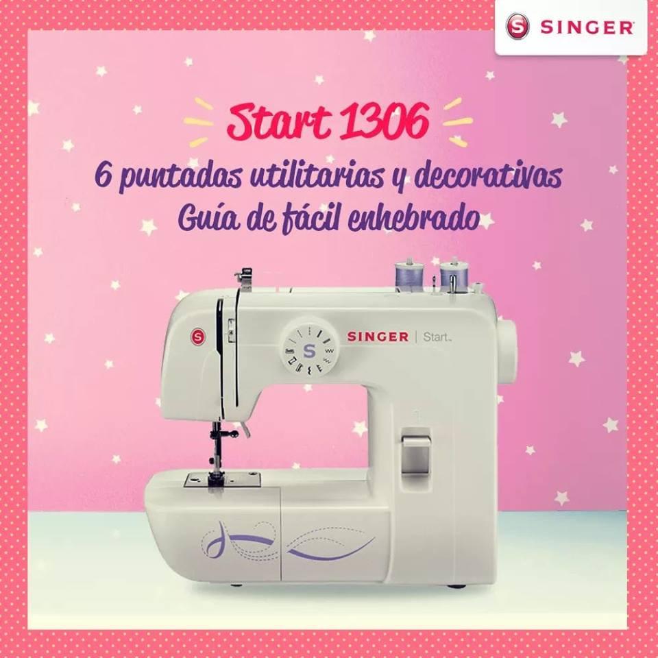 Ahora puedes comprar tu nueva máquina de coser SINGER START 1306 con DESCUENTO desde la Tienda Virtual de Ripley Perú
